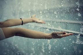 پیامک روزهای بارانی